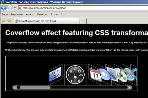 transformIE for Internet Explorer