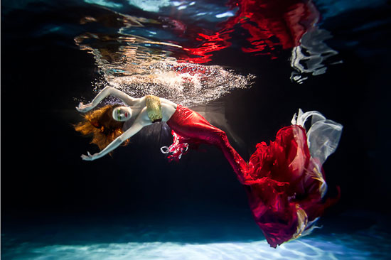 Red Mermaid Photography