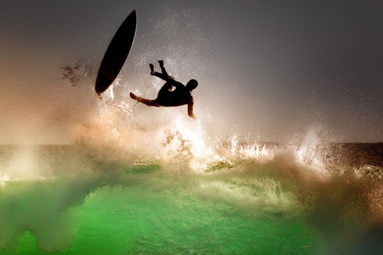 Surf Wipeouts Photography