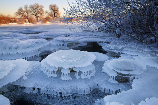 Whims of the winter river Photography
