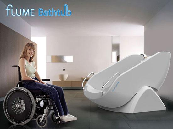 Flume Tub 1 Industrial Design Concept Inspiration