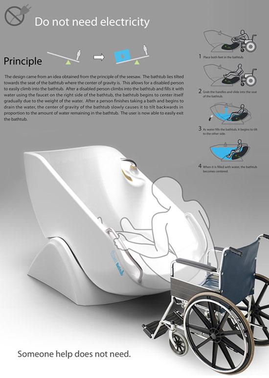 Flume Tub 3 Industrial Design Concept Inspiration
