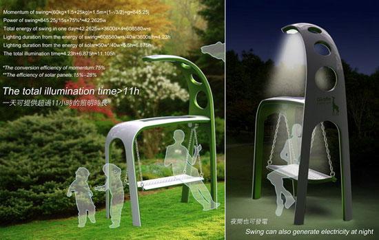 Giraffe Street Lamp 2 Industrial Design Concept Inspiration