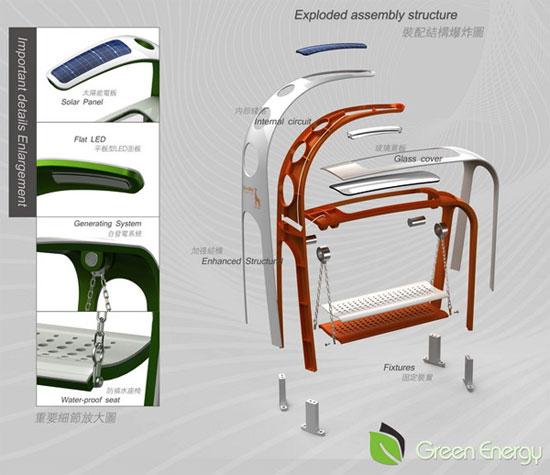 Giraffe Street Lamp 3 Industrial Design Concept Inspiration
