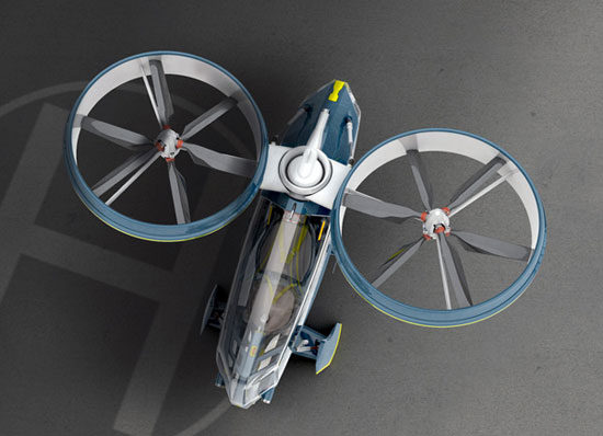 Megacity Aviation 1 Industrial Design Concept Inspiration