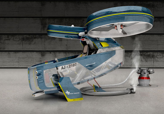 Megacity Aviation 3 Industrial Design Concept Inspiration