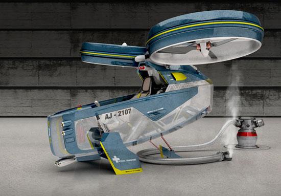 Megacity Aviation 3 Industrial Design Concept Inspiration