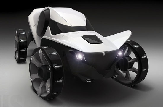 Misha all-terrain vehicle 1 Industrial Design Concept Inspiration