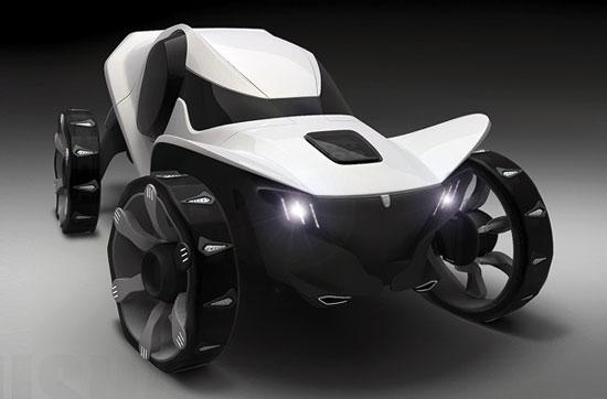 Misha all-terrain vehicle 1 Industrial Design Concept Inspiration