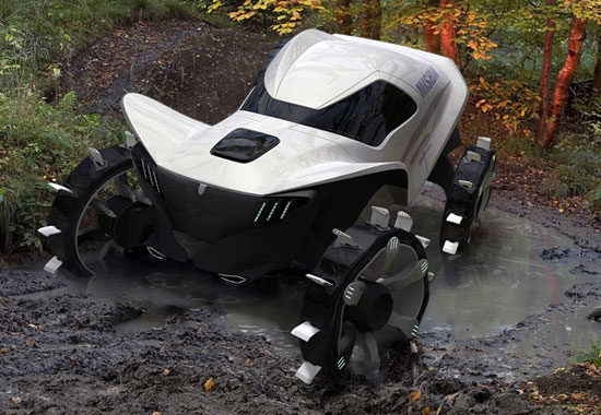 Misha all-terrain vehicle 4 Industrial Design Concept Inspiration