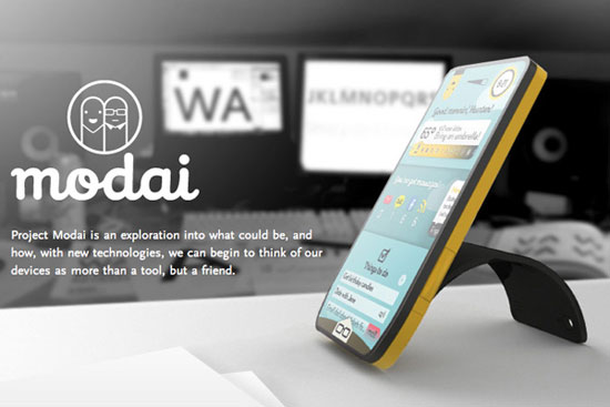 Modai Phone 1 Industrial Design Concept Inspiration