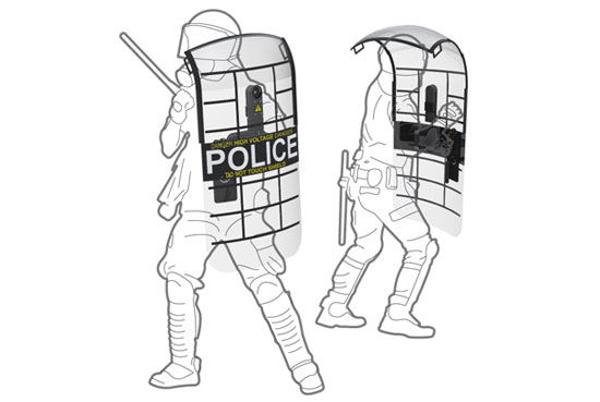 Police shield 2 Industrial Design Concept Inspiration