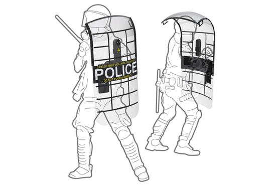Police shield 2 Industrial Design Concept Inspiration