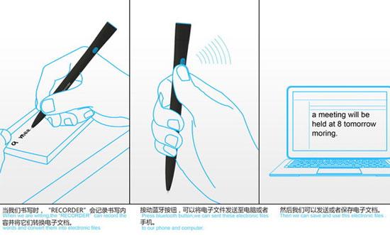 Recorder 2 Industrial Design Concept Inspiration