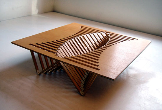 Rising table 1 Industrial Design Concept Inspiration