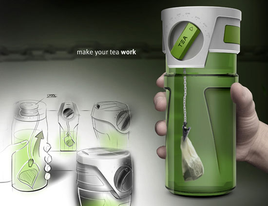 Tea thermos 1 Industrial Design Concept Inspiration