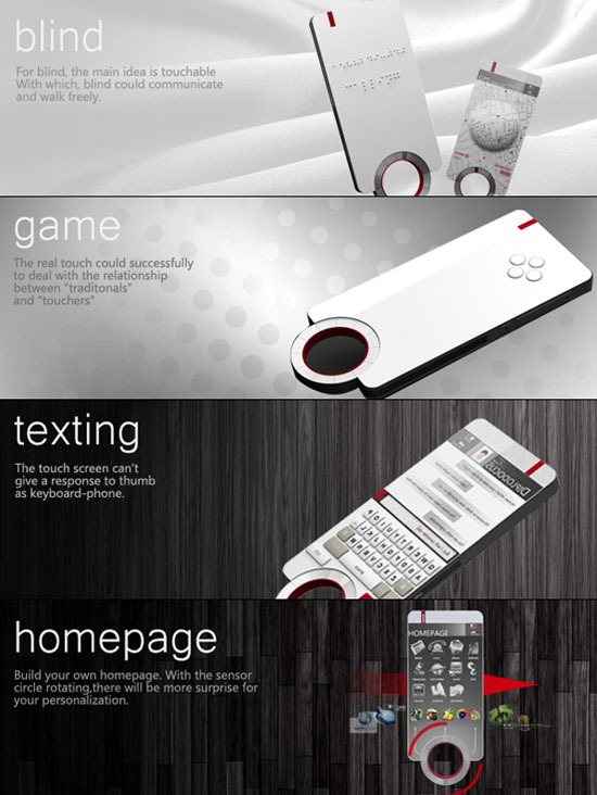 Floating Phone 2 Industrial Design Concept Inspiration