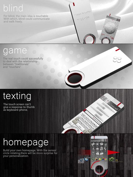 Floating Phone 2 Industrial Design Concept Inspiration