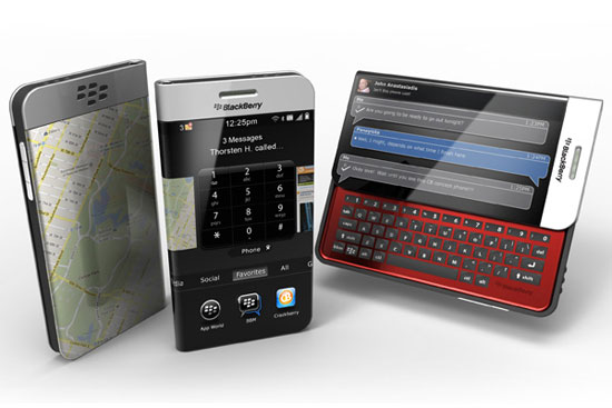 Wraparound Blackberry 1 Industrial Design Concept Inspiration