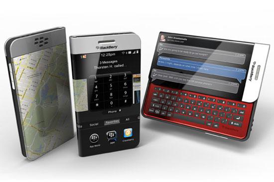 Wraparound Blackberry 1 Industrial Design Concept Inspiration