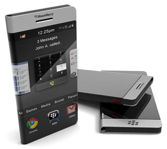 Wraparound Blackberry 2 Industrial Design Concept Inspiration