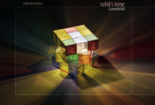 Rubiks-lamp Cool And Innovative Product Design Examples