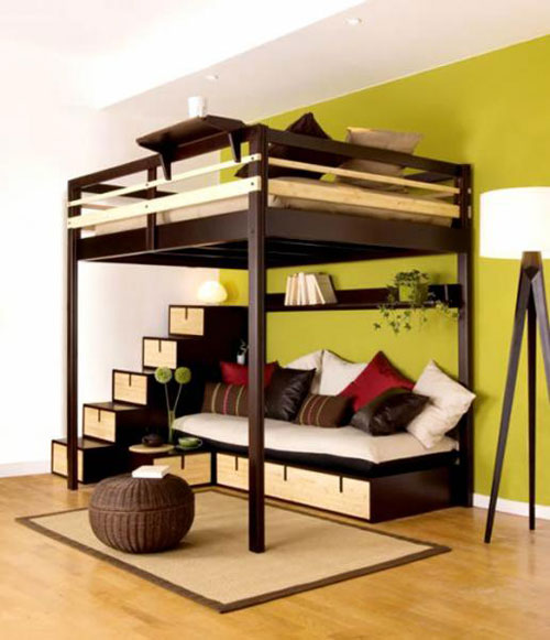 Compact bedroom by Espace Loggia
