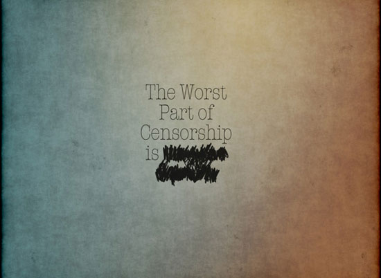 CENSORSHIP wallpaper