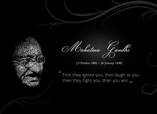 MAHATMA GANDHI wallpaper