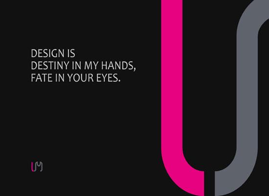 DESIGN IS DESTINY Wallpaper