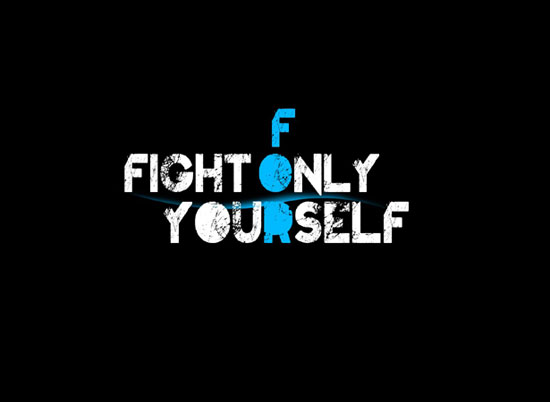 FIGHT FOR YOURSELF wallpaper