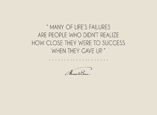 REALIZING LIFE'S FAILURES wallpaper