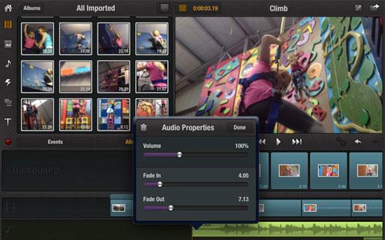 Avid Studio iPad Design