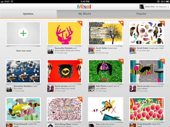 Mixel iPad Design
