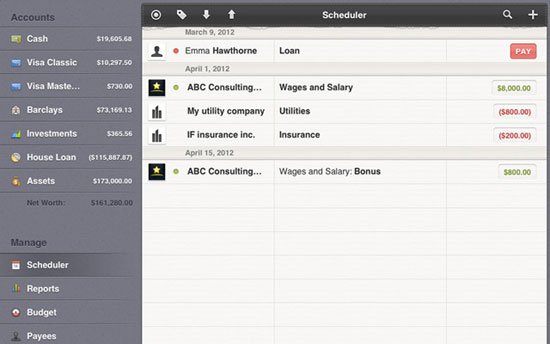 Money iPad Design