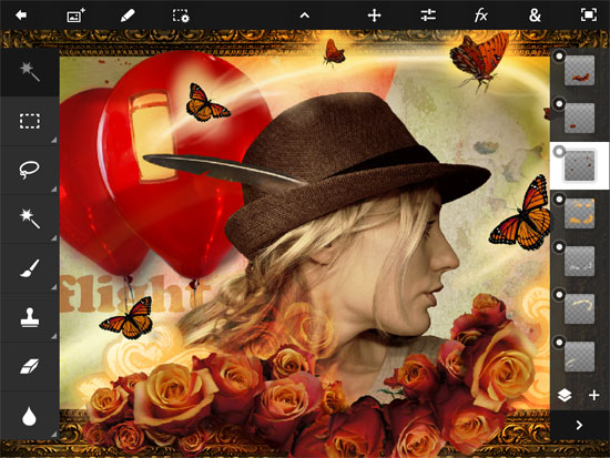 Photoshop Touch iPad Design