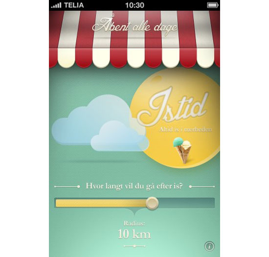 isTid iPhone App Design Inspiration