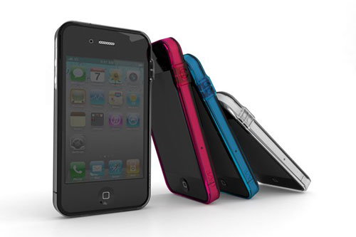 ThinEdge Clear frame case for iPhone 4