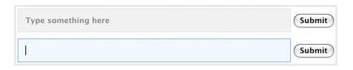 Alterar Estilos de entrada de formulário em Foco com jQuery