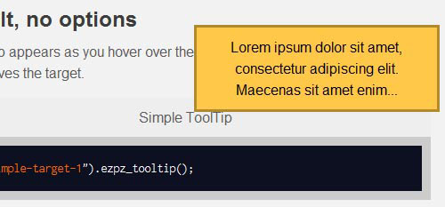 Useful jQuery Tooltip Plugins That You Could Use On Your Web