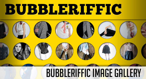 Bubbleriffic Image Gallery with jQuery tutorial