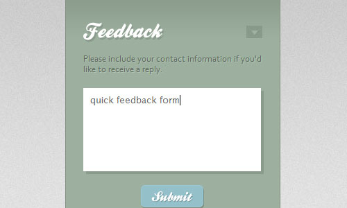 Quick Feedback Form w/ PHP and jQuery tutorial