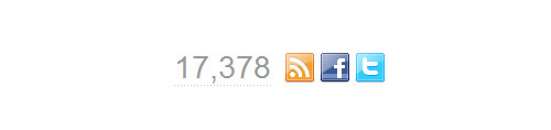 Combined Facebook, Twitter & RSS Social Stats with jQuery, PHP & YQL tutorial