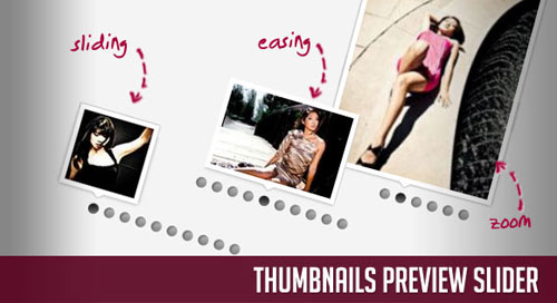 Thumbnails Preview Slider with jQuery tutorial