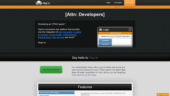 Clay.io Javascript & HTML5 game engine library