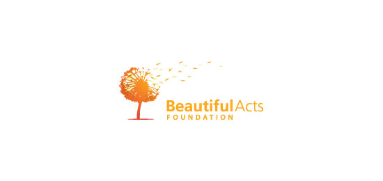 Beautiful Acts Foundation Logo Design Inspiration