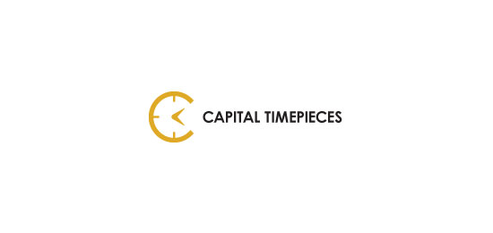 Capital Timepieces Logo Design Inspiration