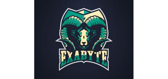 Exabyte Logo Design Inspiration