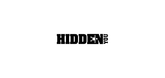 Hidden You  Logo Design Inspiration