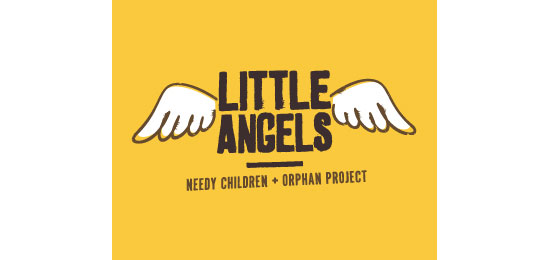 Little Angels Logo Design Inspiration